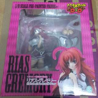1/8 High School DxD Rias Gremory リアス・グレモリー 18+ 部分可脫 軟胸 PVC Figure