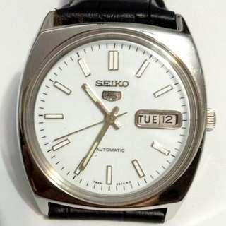 SEIKO 5 Automatic watch  bezel 36mm 21 jewels