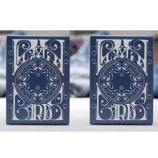 2 x Smoke & Mirrors v5: Paper Denim Playing Cards Deck by Dan and Dave