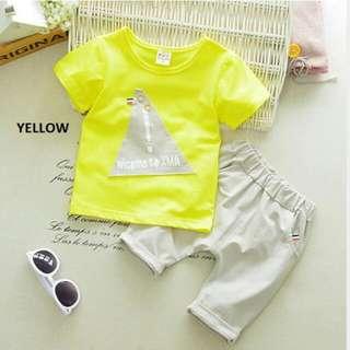 14021 Short Sleeve Shirt & Pants Set
