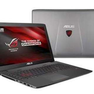 Like new Asus GL752VW - gaming laptop