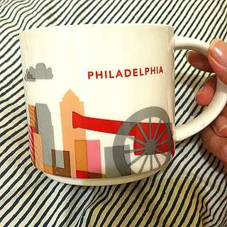 Starbucks You Are Here Collection: PHILADELPHIA