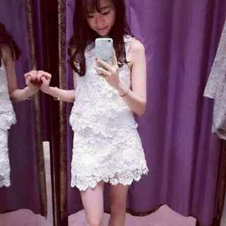 Full set Japanese brand top+skirt