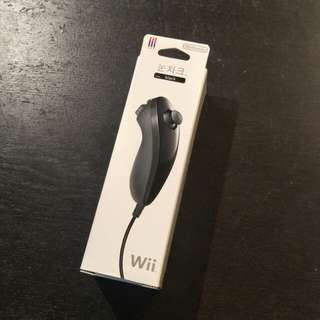 Original Wii Nunchuk (Piano Black)