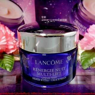 Lancome renergie nuit multi lift face and neck