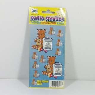 Toysmith (US) 香味貼紙 - BB 爽身粉原味 4張套裝 Mello Smellos Scratch & Smell Sticker Original Baby Power 4 pcs Set