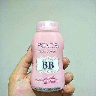 Ponds magic powder bb pink / bedak ponds thailand + dapet bonus special