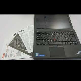 Lenovo Ultrabook ThinkPad X260 i5-6300U/8GB/256SSD, 原價 $12XXX 12.5 吋  802.11b/g/n、Bluetooth 4.0、USB3.0、DisplayPort /RGB Output、SD Card Reader、WebCam, 最新Window10, 有齊OFFICE  -同全新一樣,未使用過, 原廠保養至2020年7月, 小議