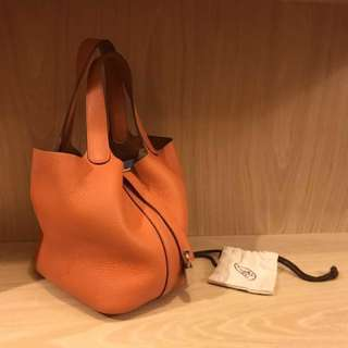 Hermes picotin 18 orange