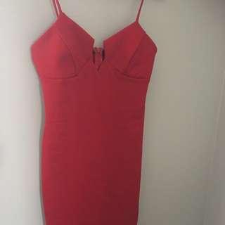 Windsor Store Short Red Dress