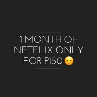 Netflix for 1month!!