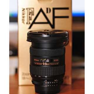 Nikon Nikkor 18-35mm f3.5-4.5 D ED AF Wide Zoom Lens