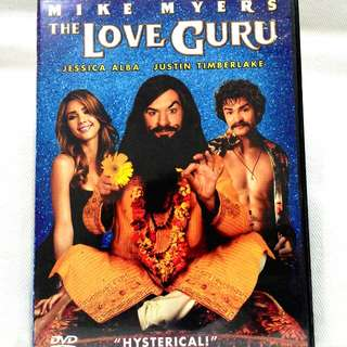 THE LOVE GURU (Starring Mike Myers, Jessica Alba, Justin Timberlake)
