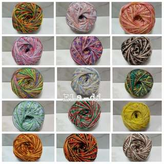 Monaco Mercerized Cotton Yarn - mixed