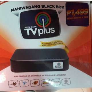 ABS CBN TV PLUS with free sim & complete accessories