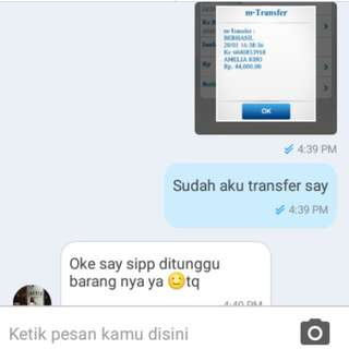 Testimoni as buyer 👍