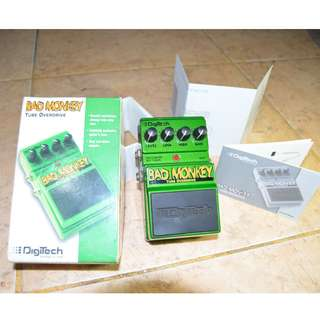 DIGITECH Bad Monkey guitar overdrive pedal