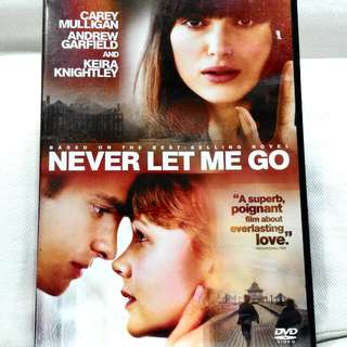 NEVER LET ME GO (Romance rated M18)
