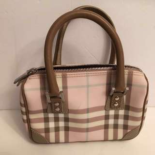 Authentic Burberry London mini handbag