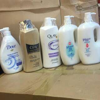 Assorted body wash 1000ml