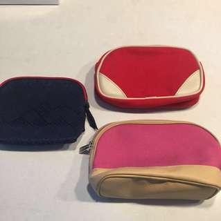 Elizabeth Arden LANCÔME 化妝袋三個一set賣