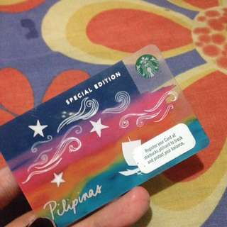 SPECIAL EDITION Starbucks card