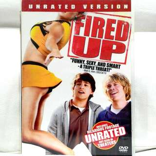 FIRED UP (Comedy rated NC16)