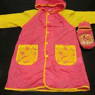 麵包超人雨衣一件,環保套。