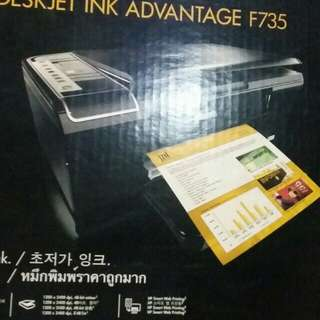 Hp Deskjet ink advantage f735