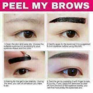 Peel my Brows (on hand)