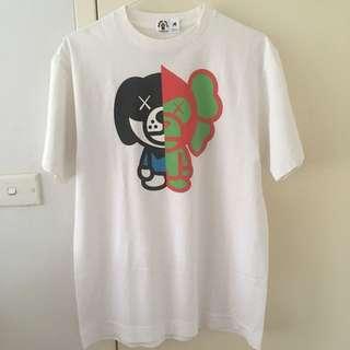 BAPE x Kaws Baby Milo by A Bathing Ape T-shirt M