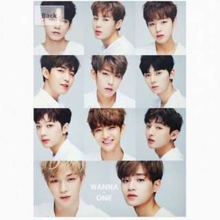 [RS] Wanna One A3 Poster