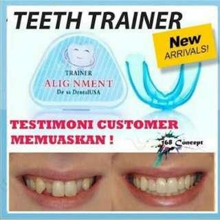 Teeth Trainer Alignment Alat perapi Gigi pengganti Behel efektif merapikan Gigi atas bawah