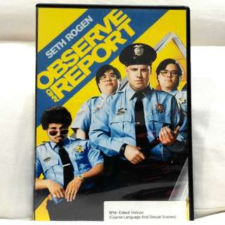 OBSERVE AND REPORT (Starring Seth Rogen)