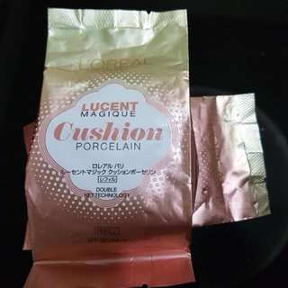 Loreal Paris Magique Cushion Porcelain Refill pack (N2 Ivory Miracle)