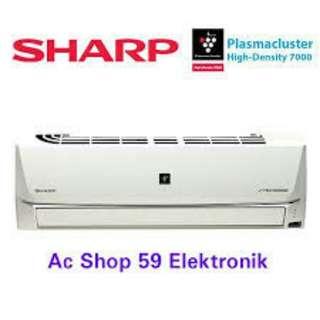 Cicilqn tanpa kartu kredit AC Sharp 1/2 pk