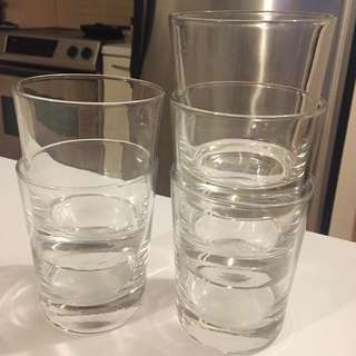 5 Glass Cups