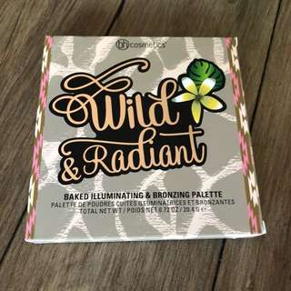 BH Cosmetics 'wild and radiant' bronzer/highlighter palette
