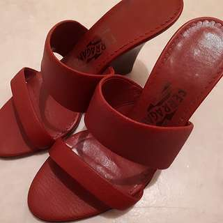 Authentic Ferragamo high Heels