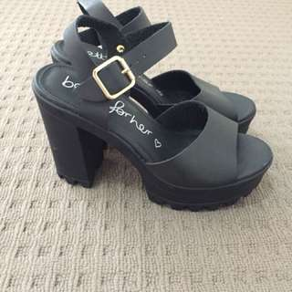 Black Betts Heels