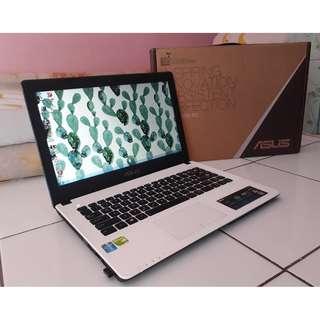 Laptop Asus A450L Corei5 Ram 4GB Hdd 500GB Nvidia GeForce 720M