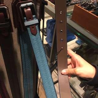 BV classic special blue belt
