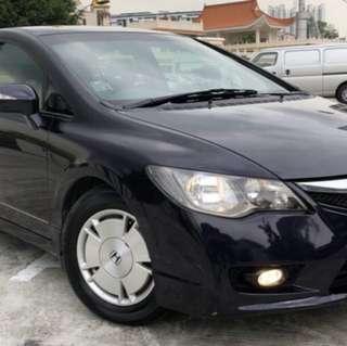 Honda Civic hybrid & Odessey for rent