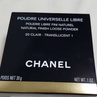 Brand new Chanel Universal Loose Powder Natural Finish Full Size In Original Box 020 Claire Translucent 1. Sealed With Puff BNIB