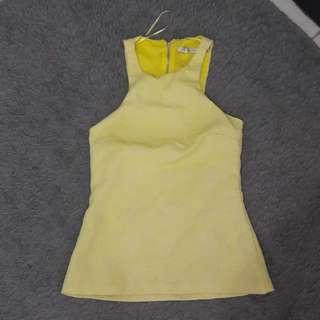 Sexy Zara Yellow Top