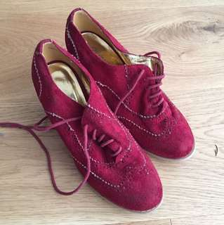 Oxford heels sz37