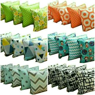Sarung bantal sofa 1 set(5 pcs) uk.40x40