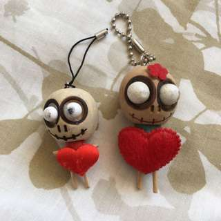 ⭐️ Voodoo Doll Key Mobile Chains