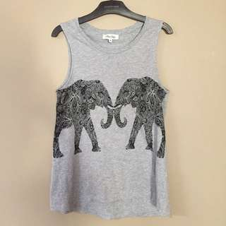 Miss Shop elephant tank top
