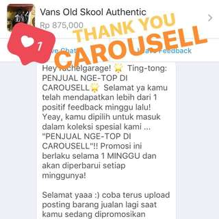 Thank you Carousell ❤️❤️❤️